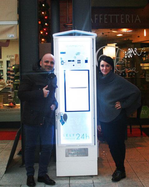 distributore automatico san lazzaro di savena