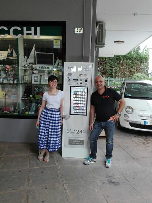 distributore automatico sigarette rimini
