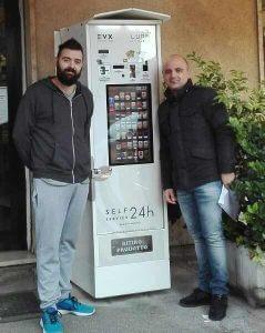 distributore automatico bologna